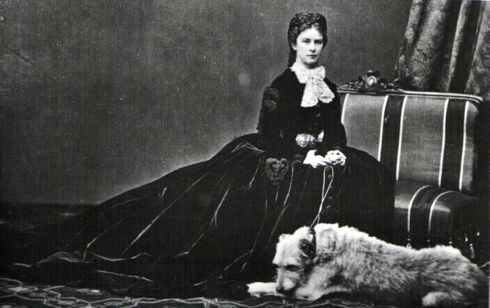 principessa Sissi Foto: Emil  Rabending 1867