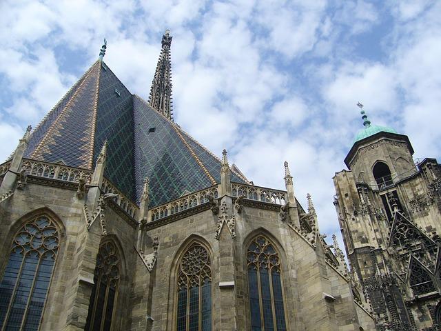 Vienna centro, Duomo di Santo Stefano, centro storico di Vienna